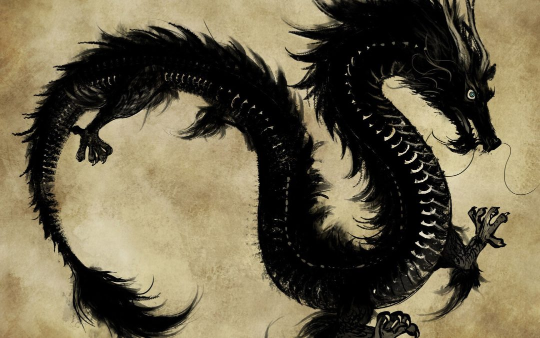 EXTRACT: THE DRAGON BEHIND THE DOOR